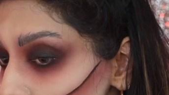 Maquiagens Para Curtir O Halloween, Todas São De Arrepiar!