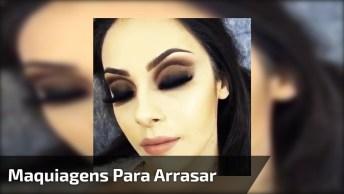 Maquiagens Para Festa, Verdadeiros Shows De Makes Para Arrasar, Confira!