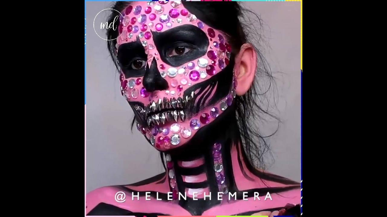 Maquiagens para Halloween, todas são incríveis