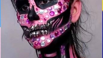 Maquiagens Para Halloween, Todas São Incríveis, Para Arrasar!