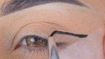 Maquiagens Para Os Olhos Com Lentes De Contatos Coloridas, Lindas!