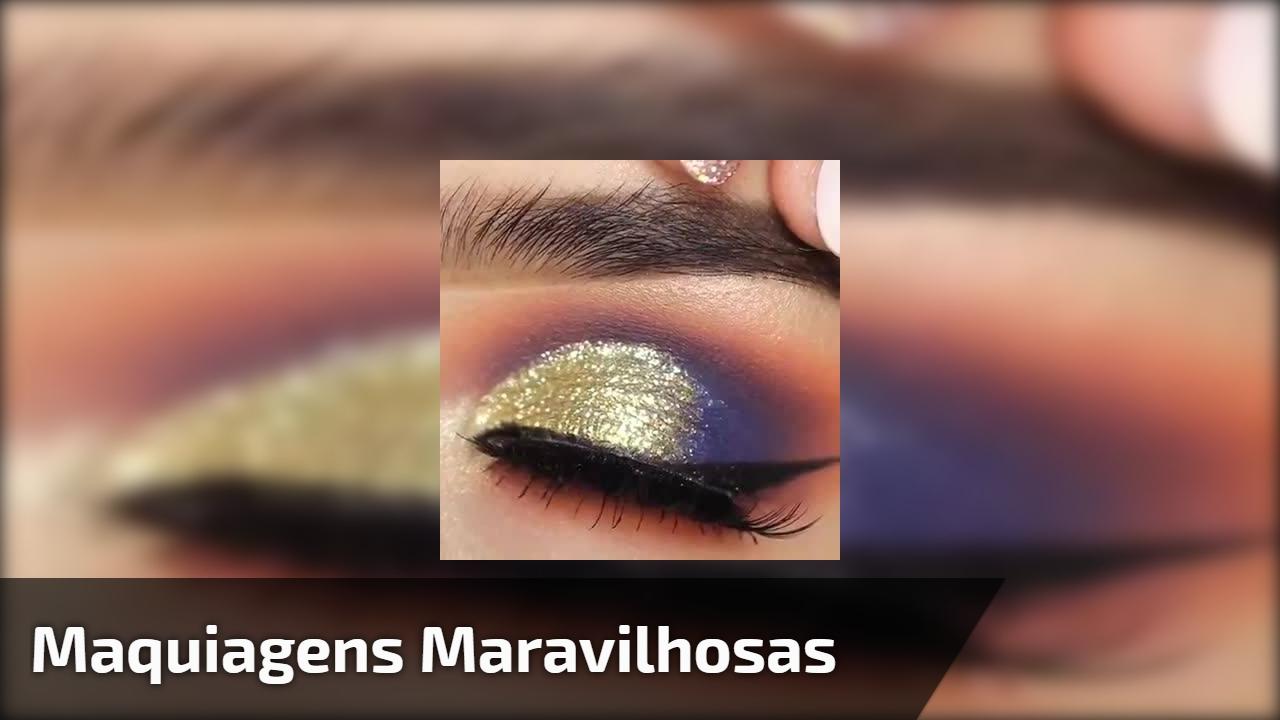 Maquiagens que irão fazer você se apaixonar pelos resultados, confira!