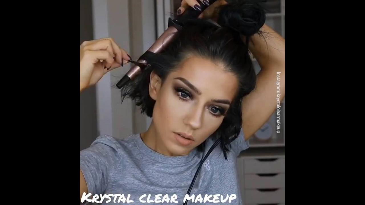 Maquiagens que você vai amar aprender a fazer, e como enrolar cabelo curto!