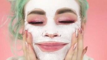 Maquiando E Tratando A Pele, Essa É O Mais Novo Truque De Beleza Das Mulheres!