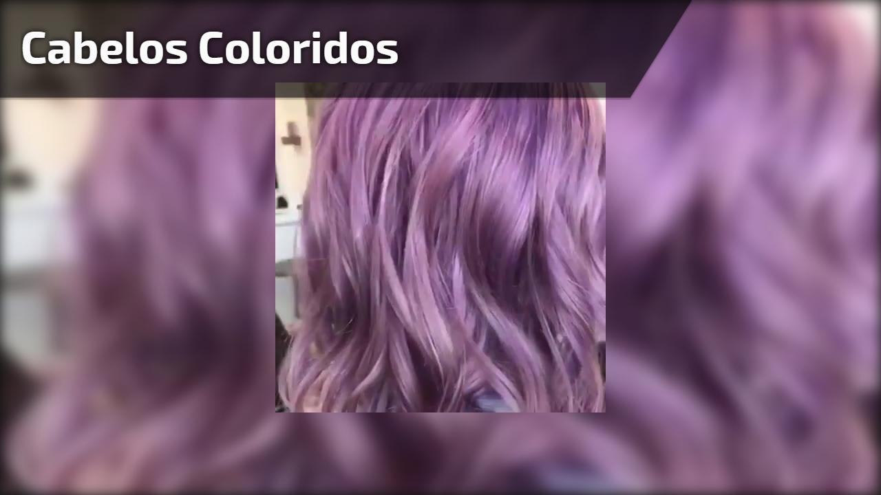 Maravilhosa cor de cabelo, para as garotas apaixonadas por cabelos coloridos!