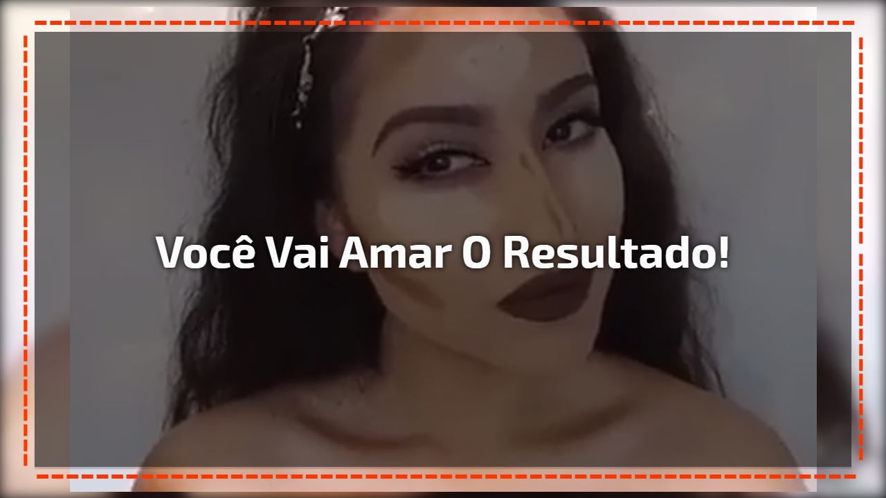 Melhor video de contorno de maquiagem, você vai amar o resultado!