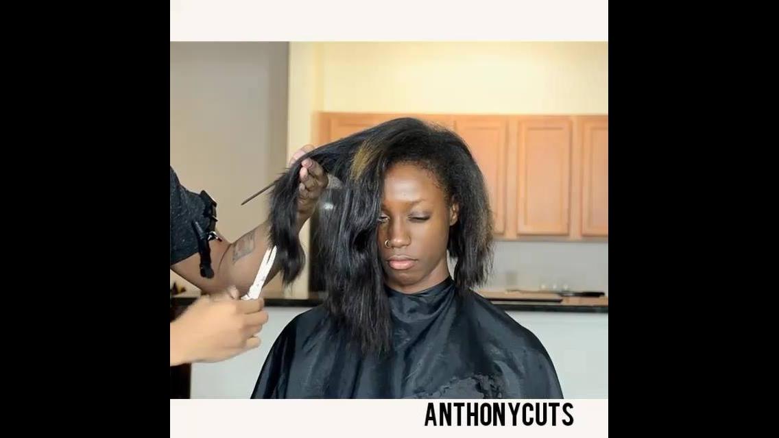 Mudança radical no visual do cabelo