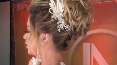 Noiva Com Penteado Fantástico, Uma Noiva De Muito Luxo, Confira!
