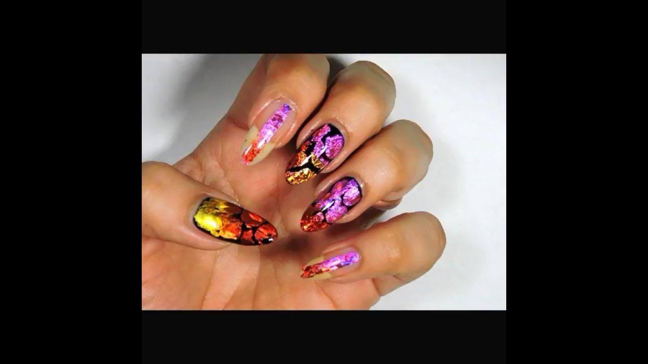 Nova decoração de unhas