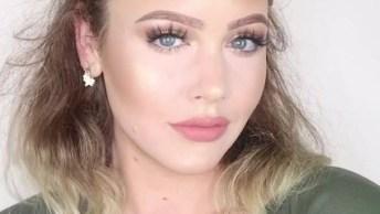 O Antes E Depois Da Maquiagem Mais Legal Do Dia, Você Gostou?