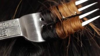 Objetos Inusitados Que Enrolam Os Cabelos Com A Ajuda Da Chapinha!
