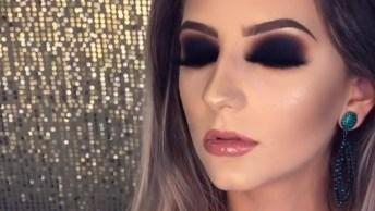 Olhos Com Maquiagem Marcante, Para Um Olhar Sedutor E Magnífico!