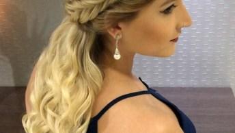 Opção De Penteado Para Casamento, Seja A Noiva Mais Meiga E Angelical Do Ano!