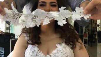 Opção De Penteado Para Noiva - O Resultado É Maravilhoso!