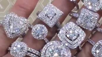 Os Anéis Mais Lindos Que Você Já Viu, Impossível Não Se Apaixonar!