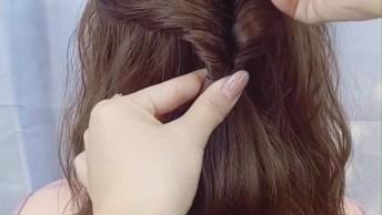 Passo A Passo De Penteados Para Cabelos Médios, Olha Só Que Lindos!