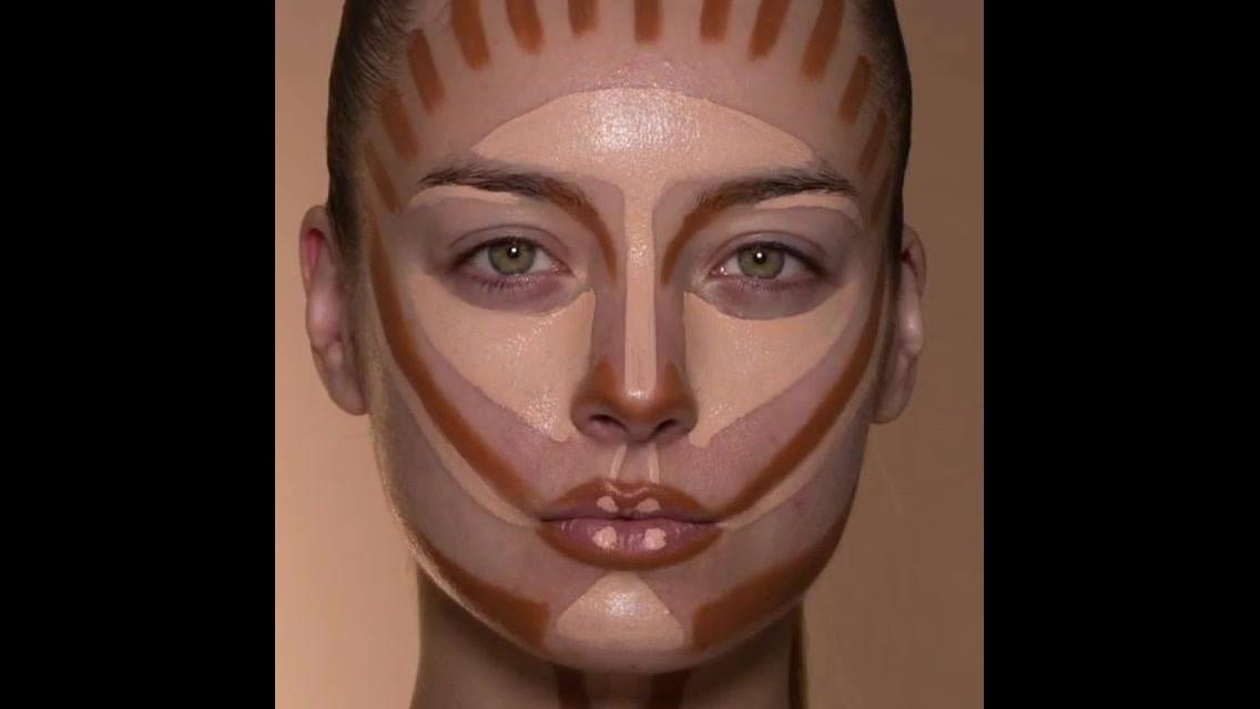 Passo a passo do contorno na maquiagem