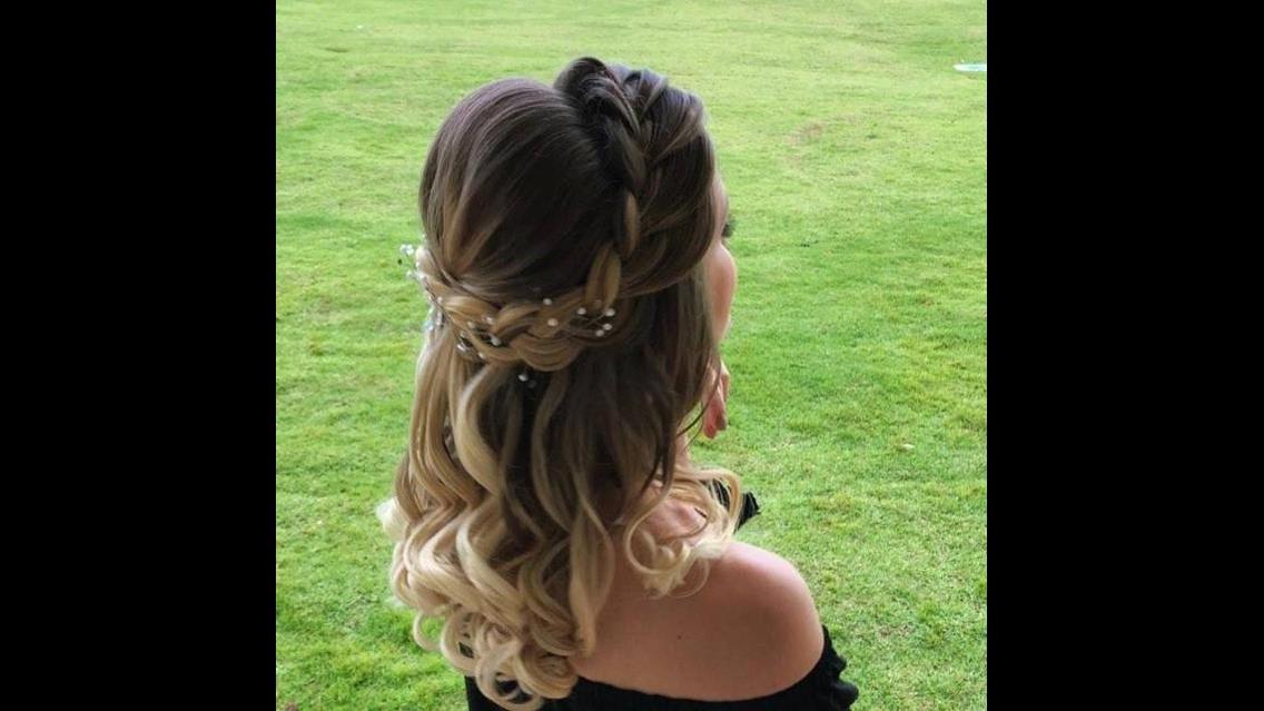 Penteado angelical - Perfeito para noivas, vale a pena conferir!