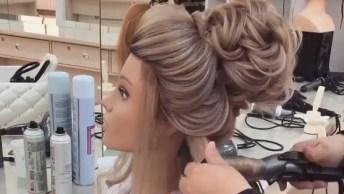 Penteado Com Coque Alto Para Noivas, Olha Só Que Perfeição!
