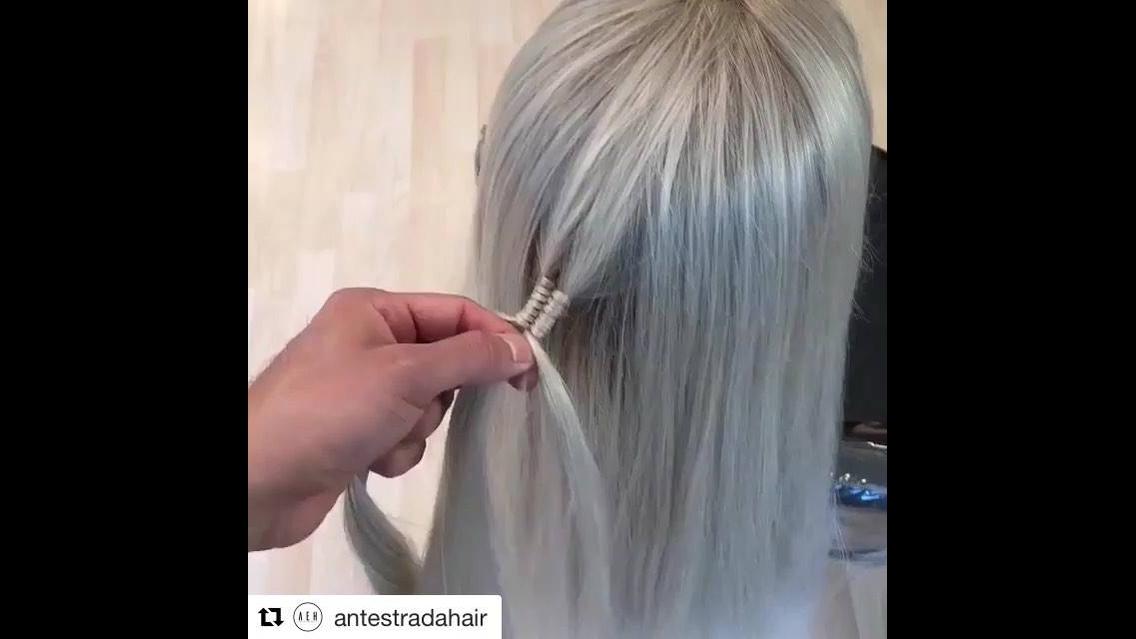 Penteado com trança diferente, esse e inovador, vale a pena conferir!