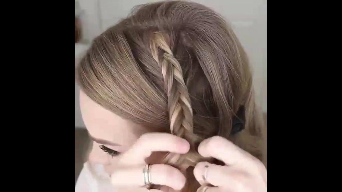 Penteado com tranças, mais um video que você vai amar