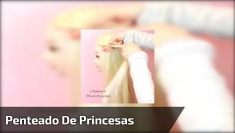 Penteado Com Várias Tranças Digno De Uma Princesa De Livros Encantados!