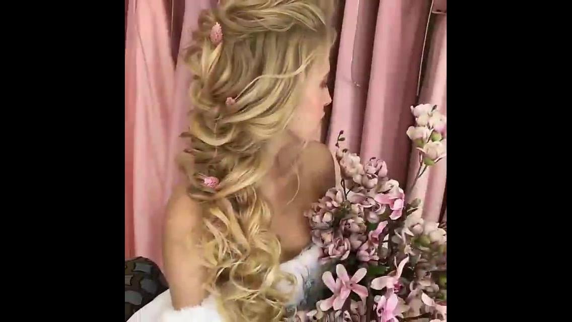 Penteado de noiva maravilhoso