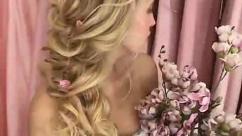 Penteado De Noiva Maravilhoso, Mais Um Para Aprender E Se Apaixonar!