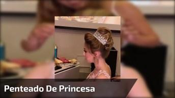 Penteado De Princesa Para Noivas, Com Direito A Coroa E Tudo!