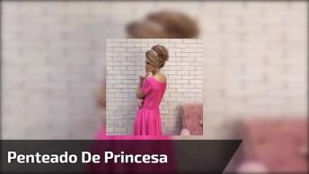 Penteado De Princesa Para Noivas, Impossível Não Arrasar Com Esse Penteado!