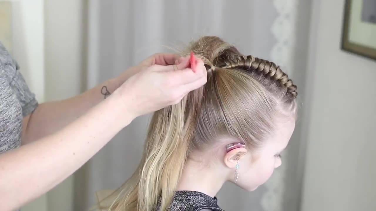 Penteado estiloso para meninas, vale a pena conferir este tutorial incrível!!!