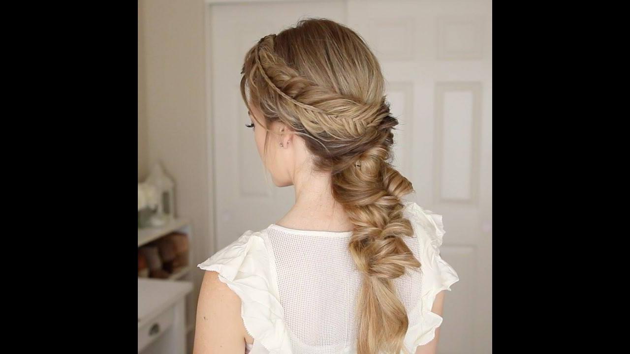 Penteado fácil de fazer no próprio cabelo, fica muito lindo!
