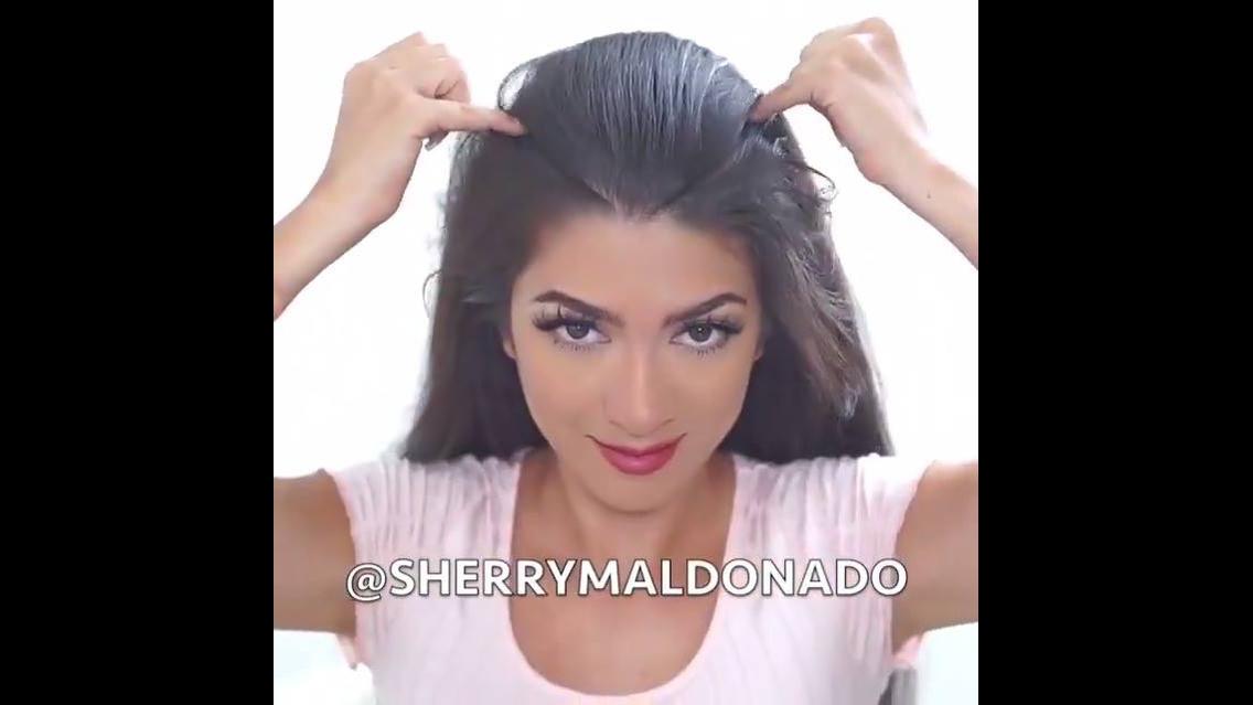 Penteado indiano para você aprender,veja que show o resultado!