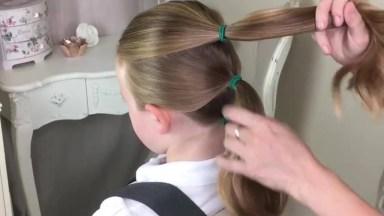 Penteado Infantil Para Escola, Perfeito E Super Simples