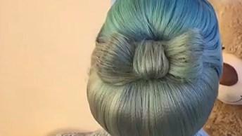 Penteado Luxuoso Para Você Aprender Hoje, Você Vai Amar!