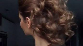 Penteado Maravilhoso Fácil De Fazer, Você Vai Se Apaixonar!