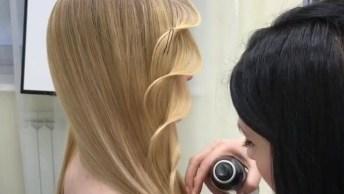 Penteado Maravilhoso - Você Vai Amar Ver Esse Penteado Sendo Feito!