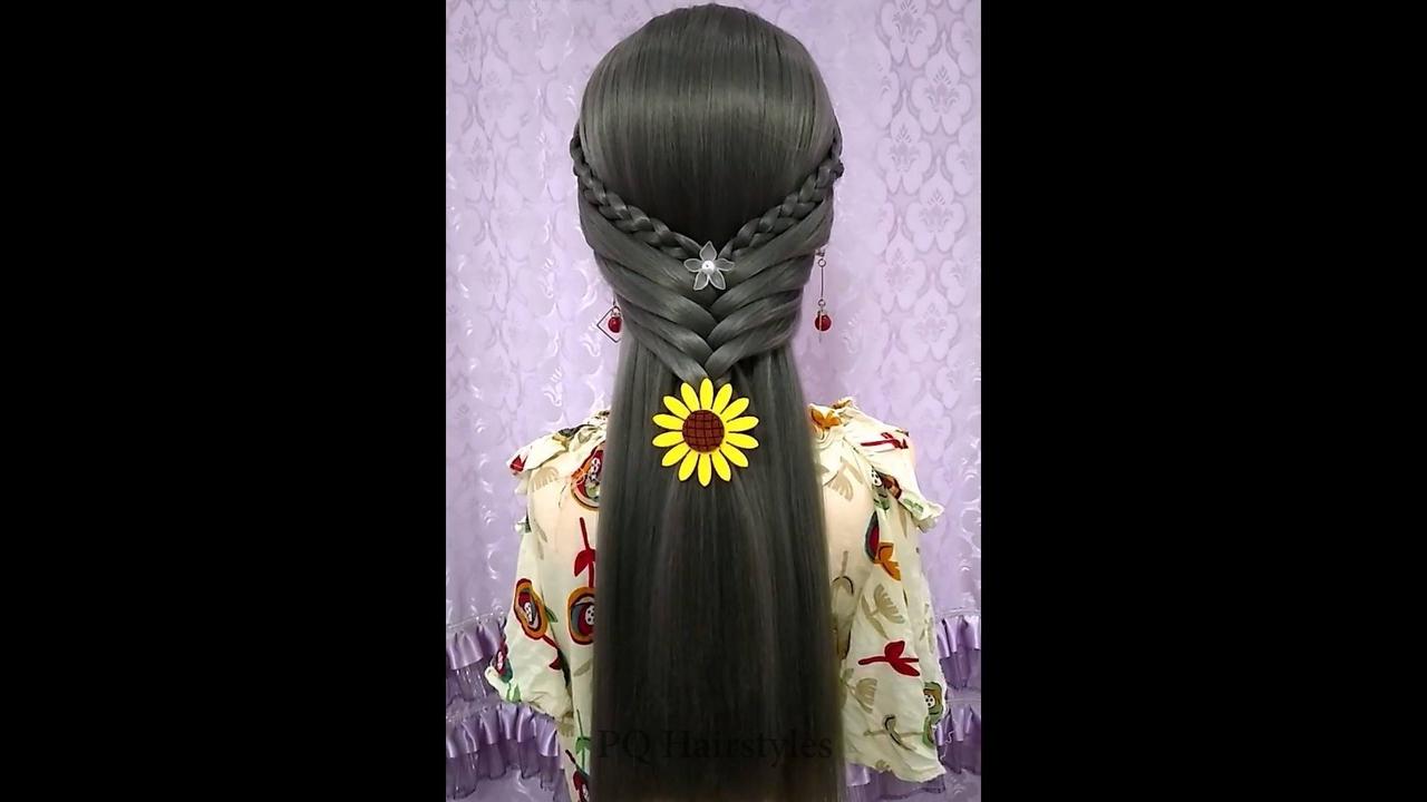 Penteado para cabelos longos, é um mais delicado que o outro, confira!!!
