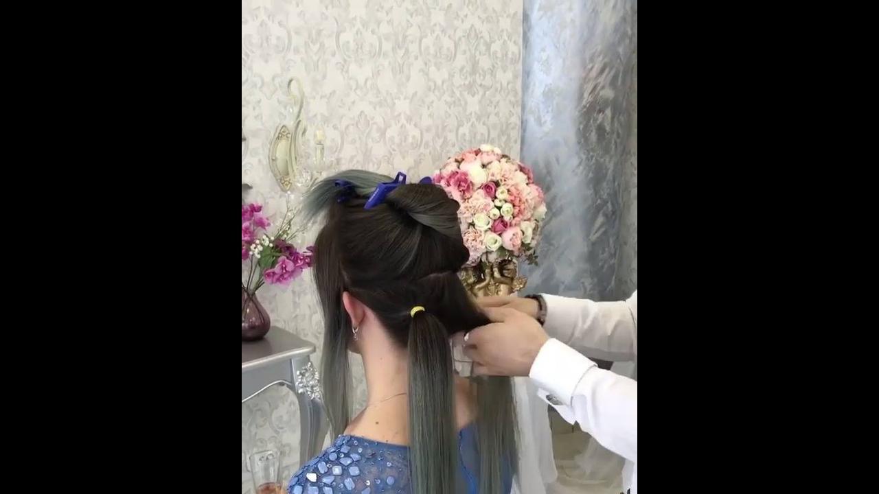 Penteado para cabelos medianos, resultado muito lindo
