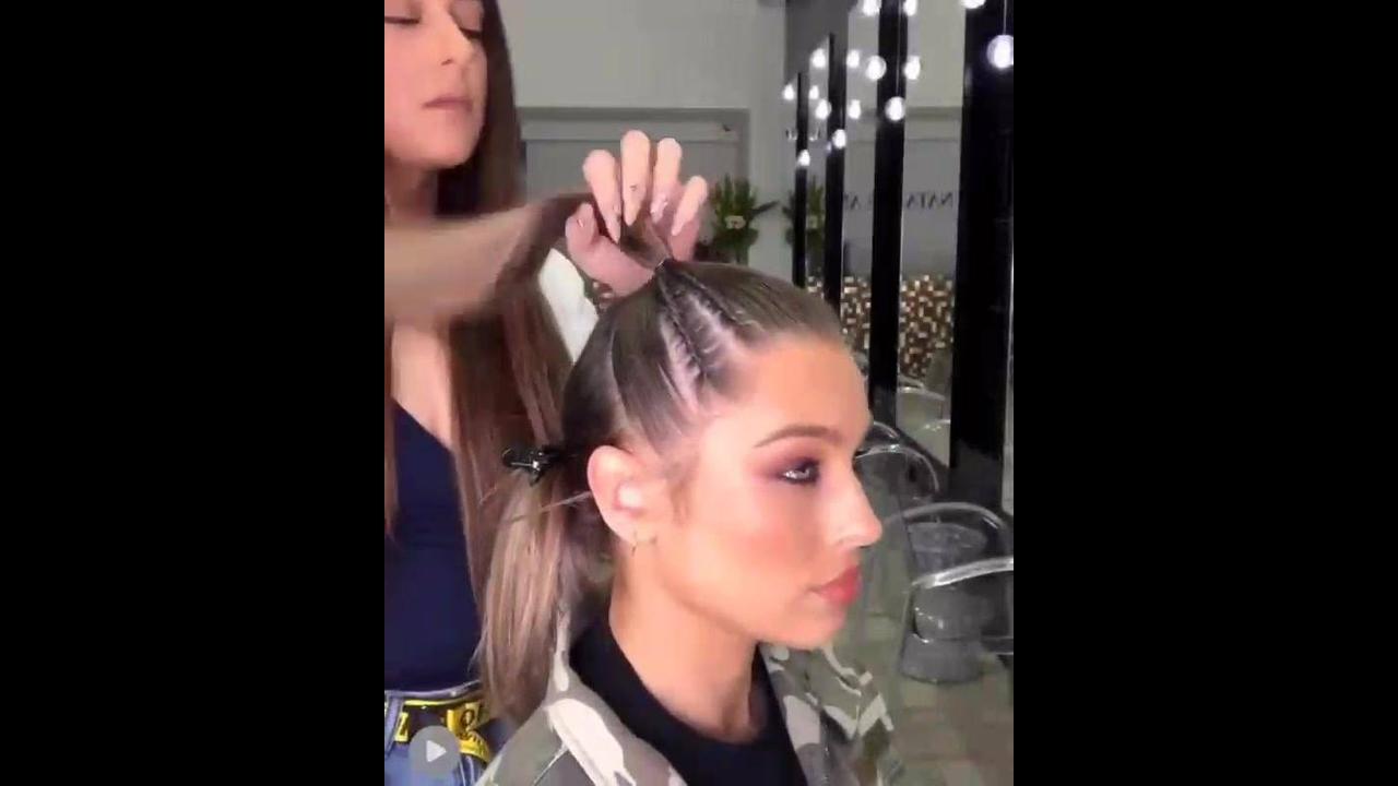 Penteado para garotas lindo
