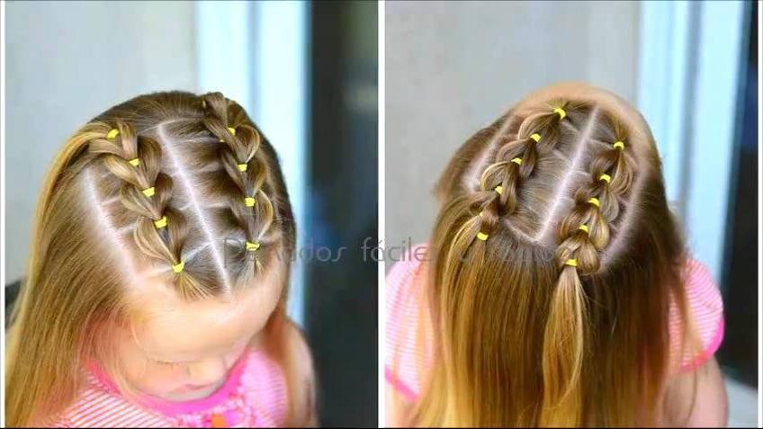 Penteado para garotinhas