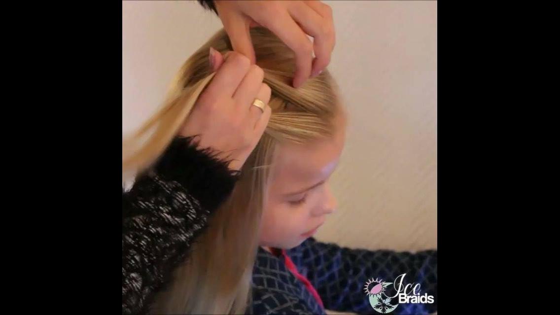 Penteado para menina ir a escola