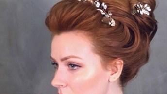 Penteado Para Noiva, Esse É O Verdadeiro Penteado De Uma Duquesa!