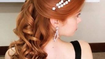 Penteado Para Noiva, Mais Uma Ideia Que Pode Surpreender Suas Amigas!