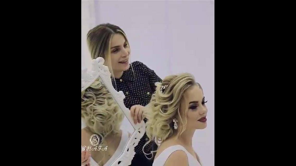 Penteado para noiva, olha só que trabalho impecável é muito bonito!!!