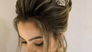 Penteado Para Noiva Que Esta Em Busca De Inspiração, Veja Que Lindo!