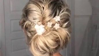 Penteado Para Noiva, Uma Belíssima Ideia Para Você Que Vai Se Casar!