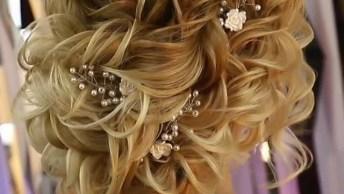 Penteado Para Noiva, Uma Das Melhores Inspirações Do Dia, Confira!