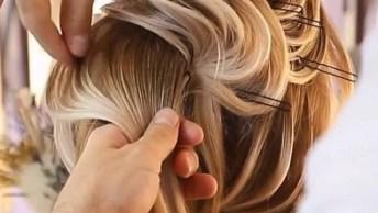 Penteado Para Noivas, Veja Que Trabalho Maravilhoso Simplesmente Perfeito!