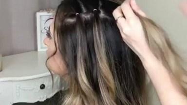 Penteado Preso Com Detalhe, Mais Uma Ideia Para Você Aprender!